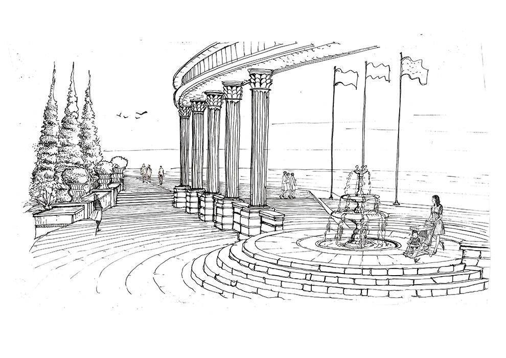 ROMA-GATE-SKETCH
